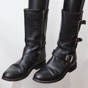 FRYE Women's Jayden Moto Cuff Boot Size 8